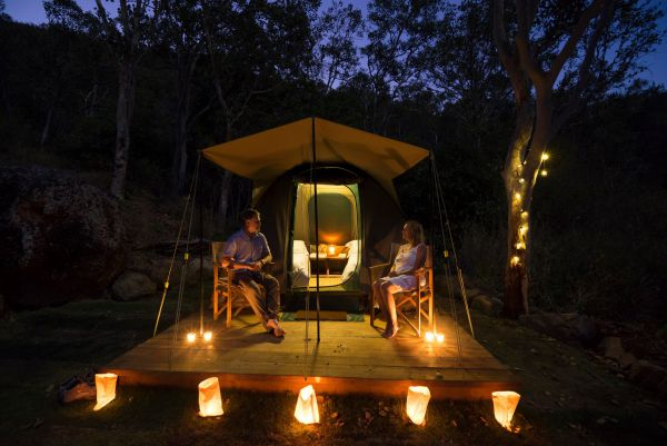 Keswick Island Camping and Glamping - Broome Tourism