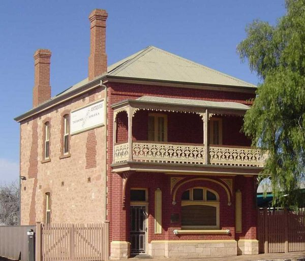 Savings Bank of South Australia - Old Quorn Branch - Broome Tourism