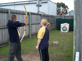 Bairnsdale Archery Mini Golf  Games Park - Broome Tourism