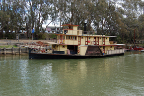 Emmylou Paddle Steamer - Broome Tourism