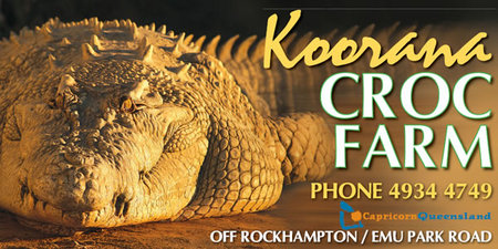 Koorana Saltwater Crocodile Farm - Broome Tourism
