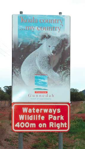 Waterways Wildlife Park - Broome Tourism