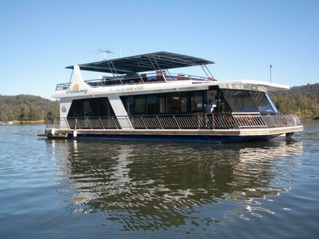 Able Hawkesbury River Houseboats - Broome Tourism