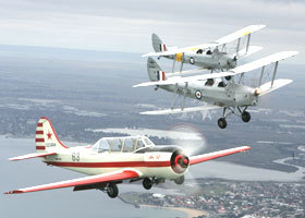 Vintage Tiger Moth Joy Flights - Broome Tourism