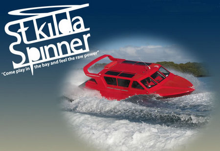 St Kilda Spinner Jet Boat Rides - Broome Tourism