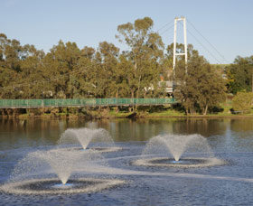 Suspension Bridge - Broome Tourism