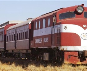 Old Ghan Heritage Railway and Museum - Broome Tourism