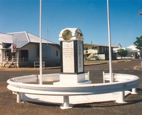 Cloncurry War Memorial - Broome Tourism