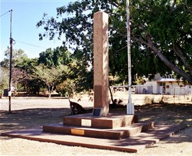 Mount Isa Memorial Cenotaph - Broome Tourism