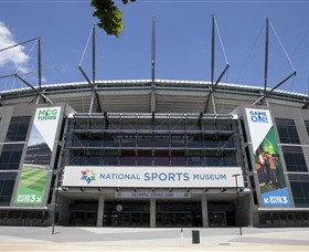 National Sports Museum at the MCG - Broome Tourism