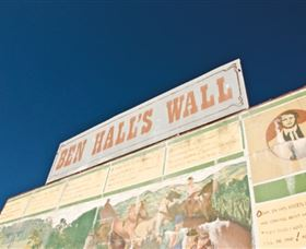 Ben Hall Wall - Broome Tourism