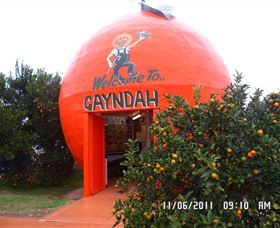 Gayndahs Big Orange - Broome Tourism