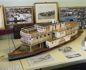 Wentworth Model Paddlesteamer Display - Broome Tourism