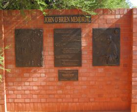 John OBrien Commemorative Wall