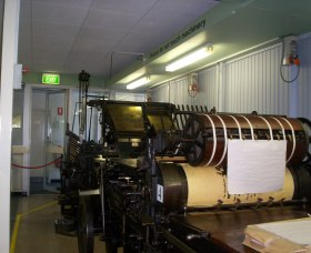 Queanbeyan Printing Museum - Broome Tourism