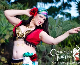 Cinnamon Twist Belly Dance - Broome Tourism