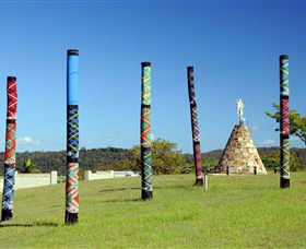 Maclean Tartan Power Poles - Broome Tourism