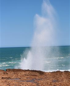 Blowholes and Point Quobba