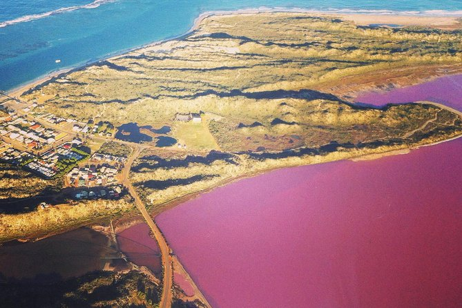 70-minute Pink Lake and Port Gregory Scenic Flight From Geraldton - Broome Tourism