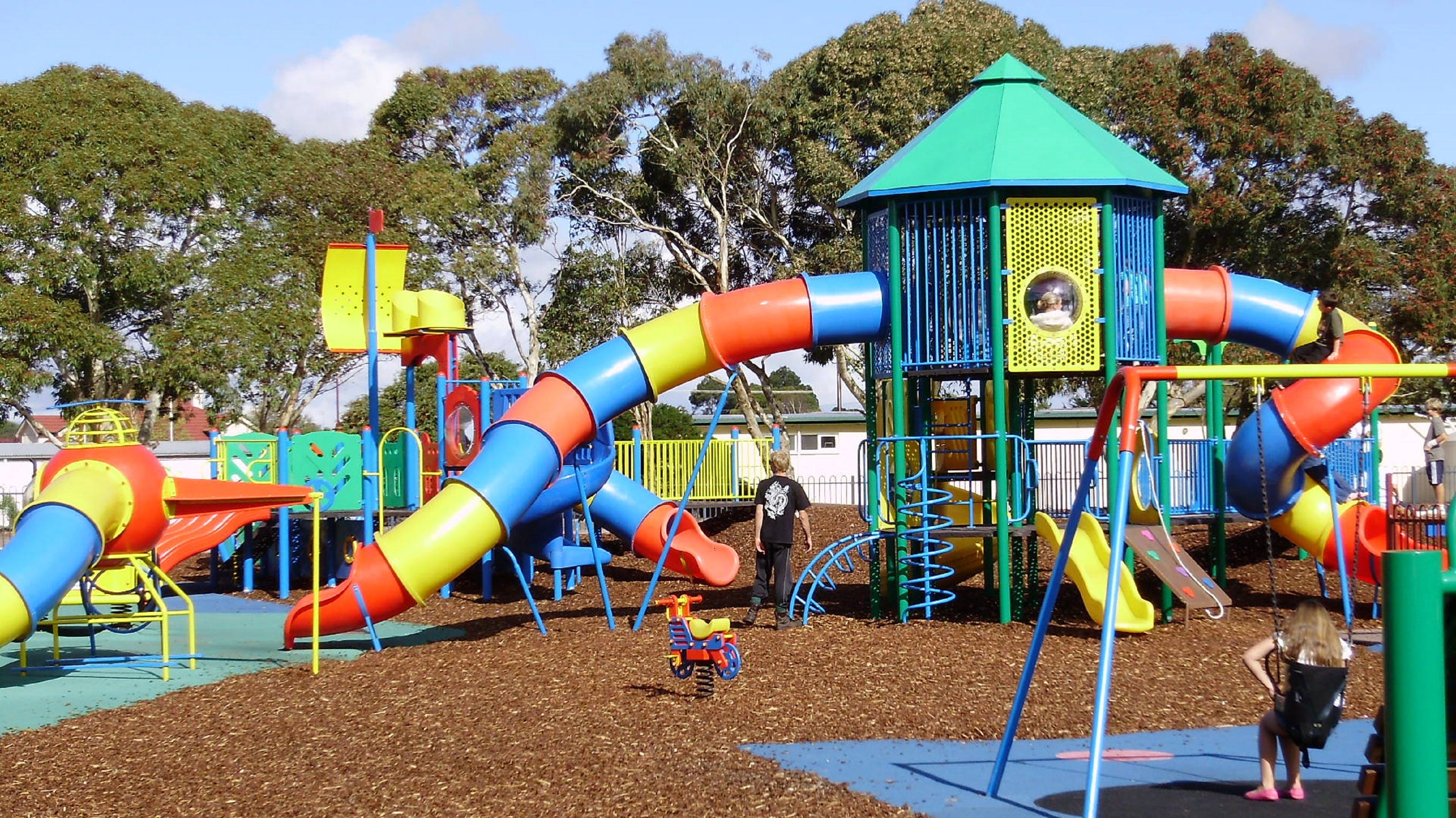 Millicent Mega Playground in The Domain - Broome Tourism