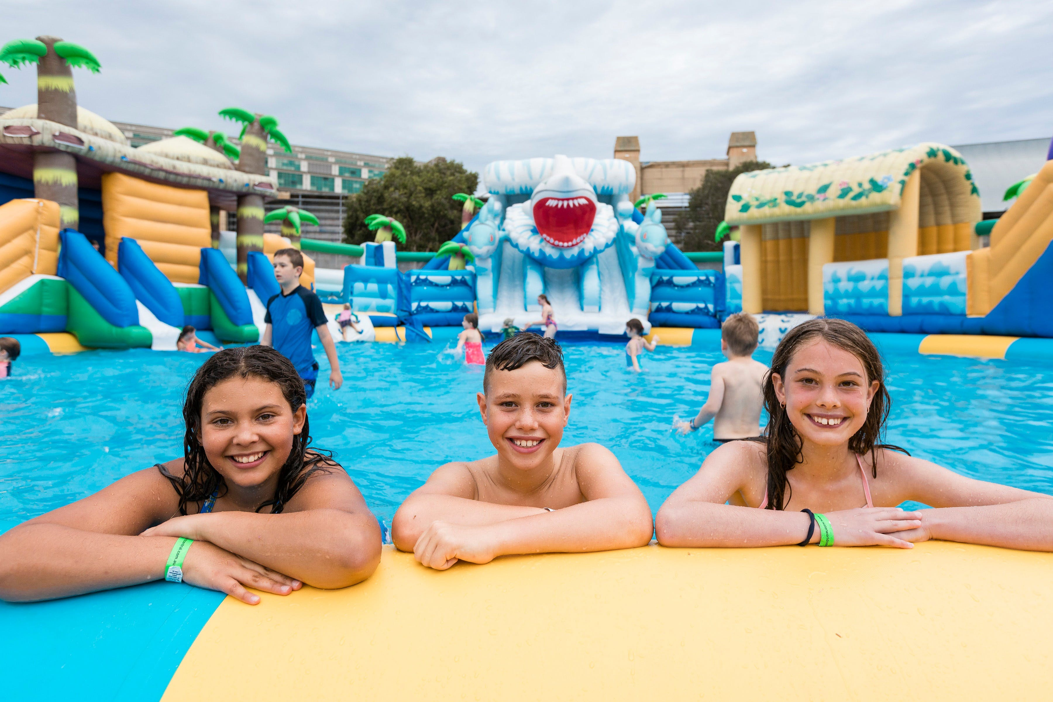 Waterworld Central - Mobile Inflatable Waterpark - Broome Tourism