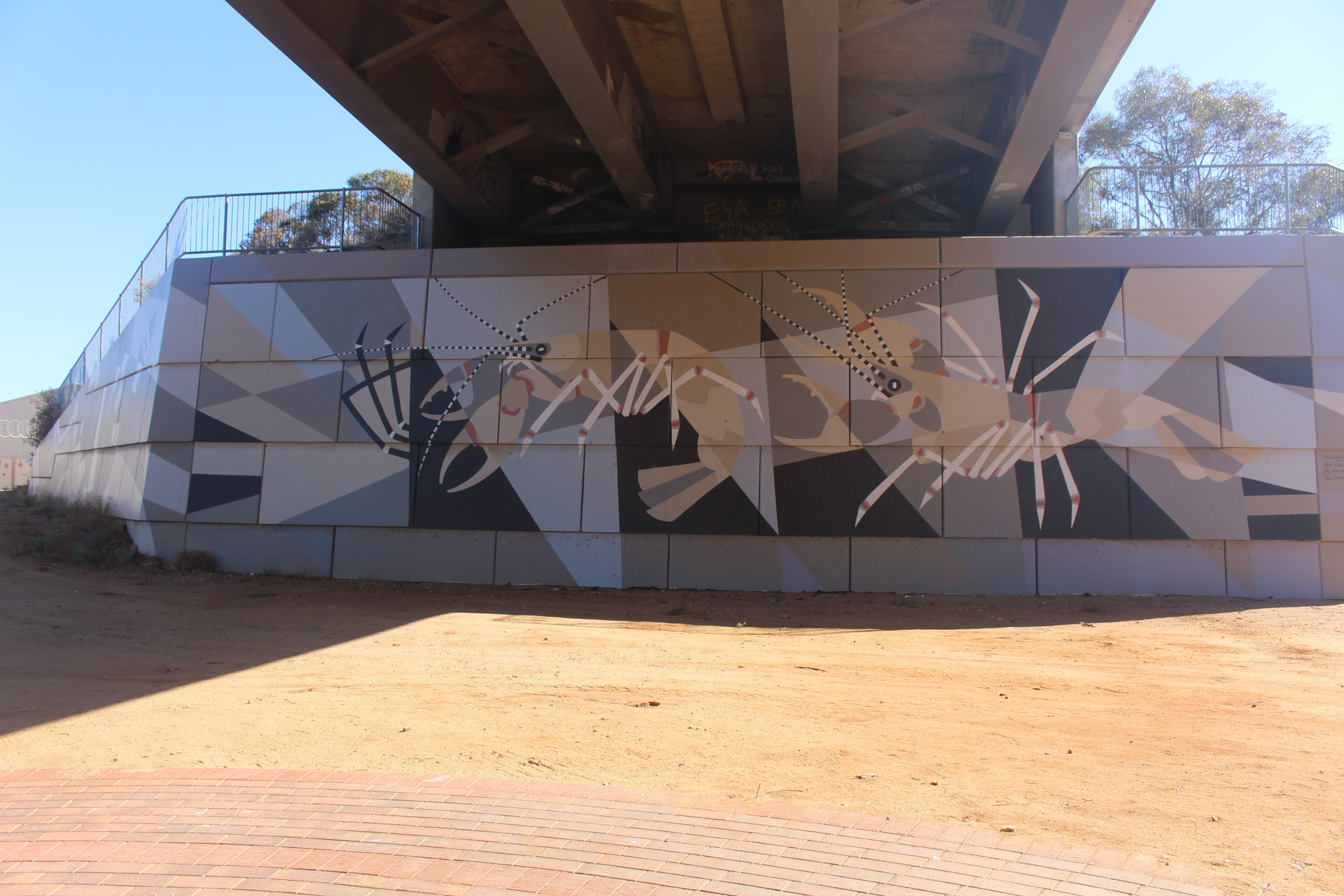 Berri Bridge Mural - Broome Tourism