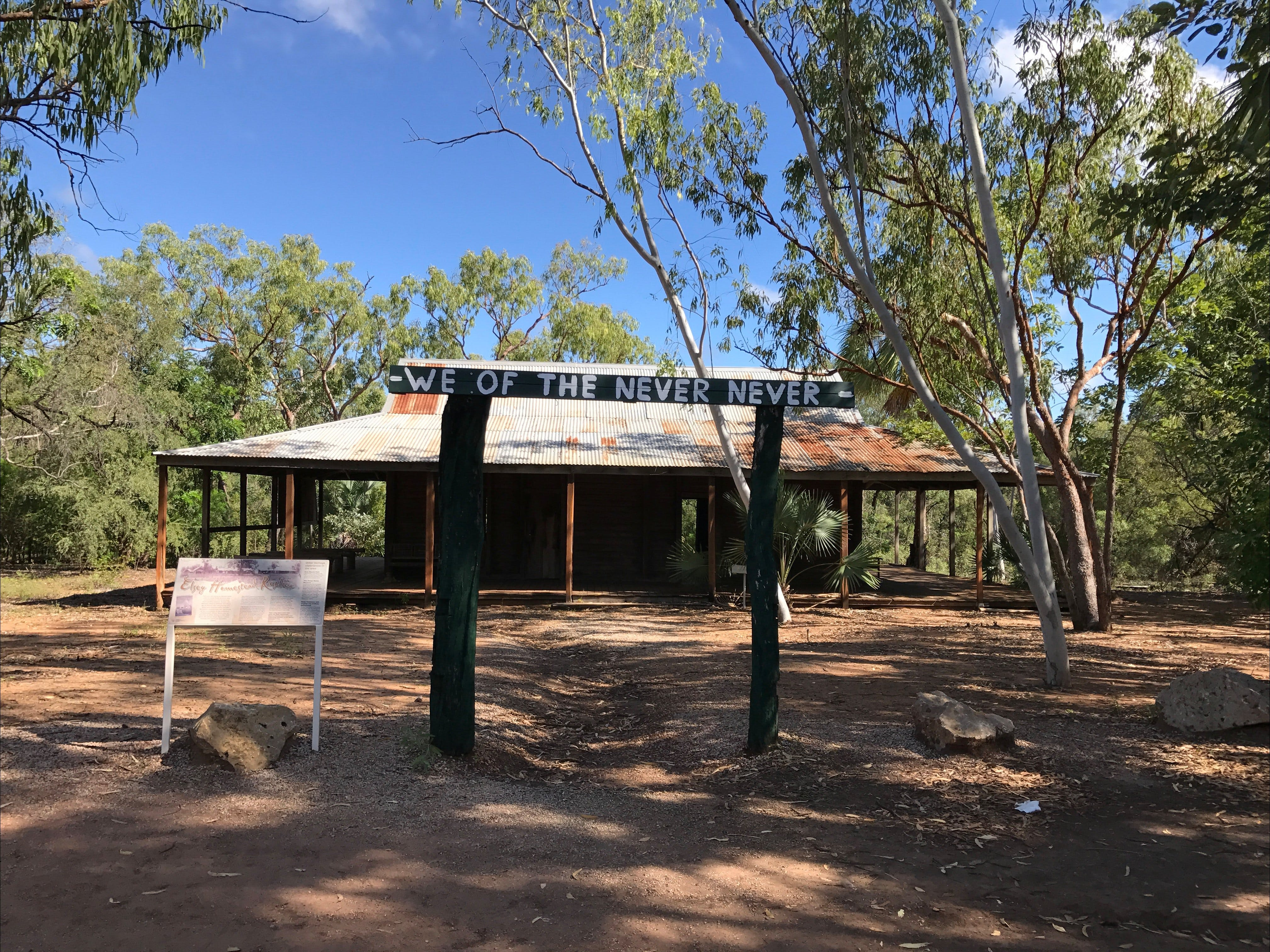 Elsey Homestead Replica - Broome Tourism