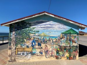 Stansbury Foreshore Murals - Broome Tourism