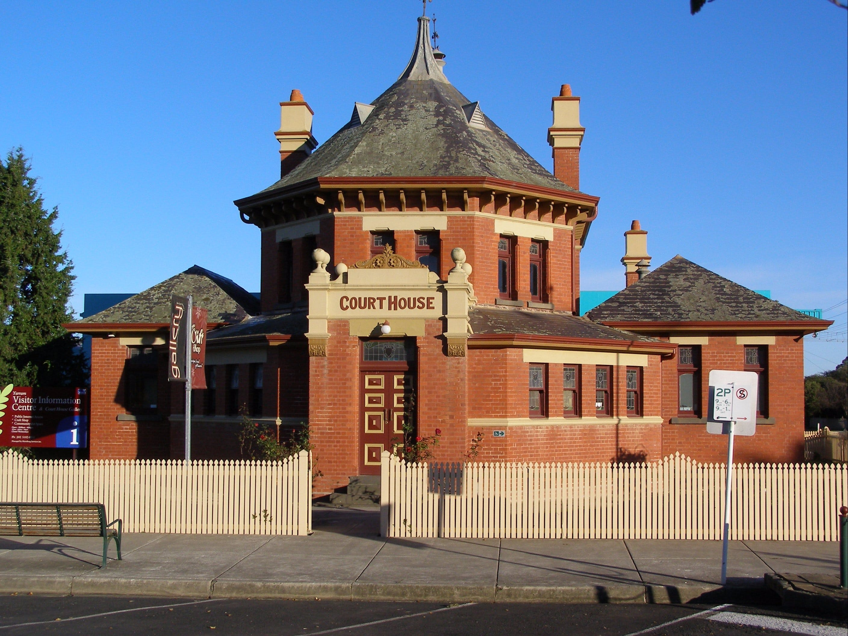 Yarram Courthouse Gallery - Broome Tourism