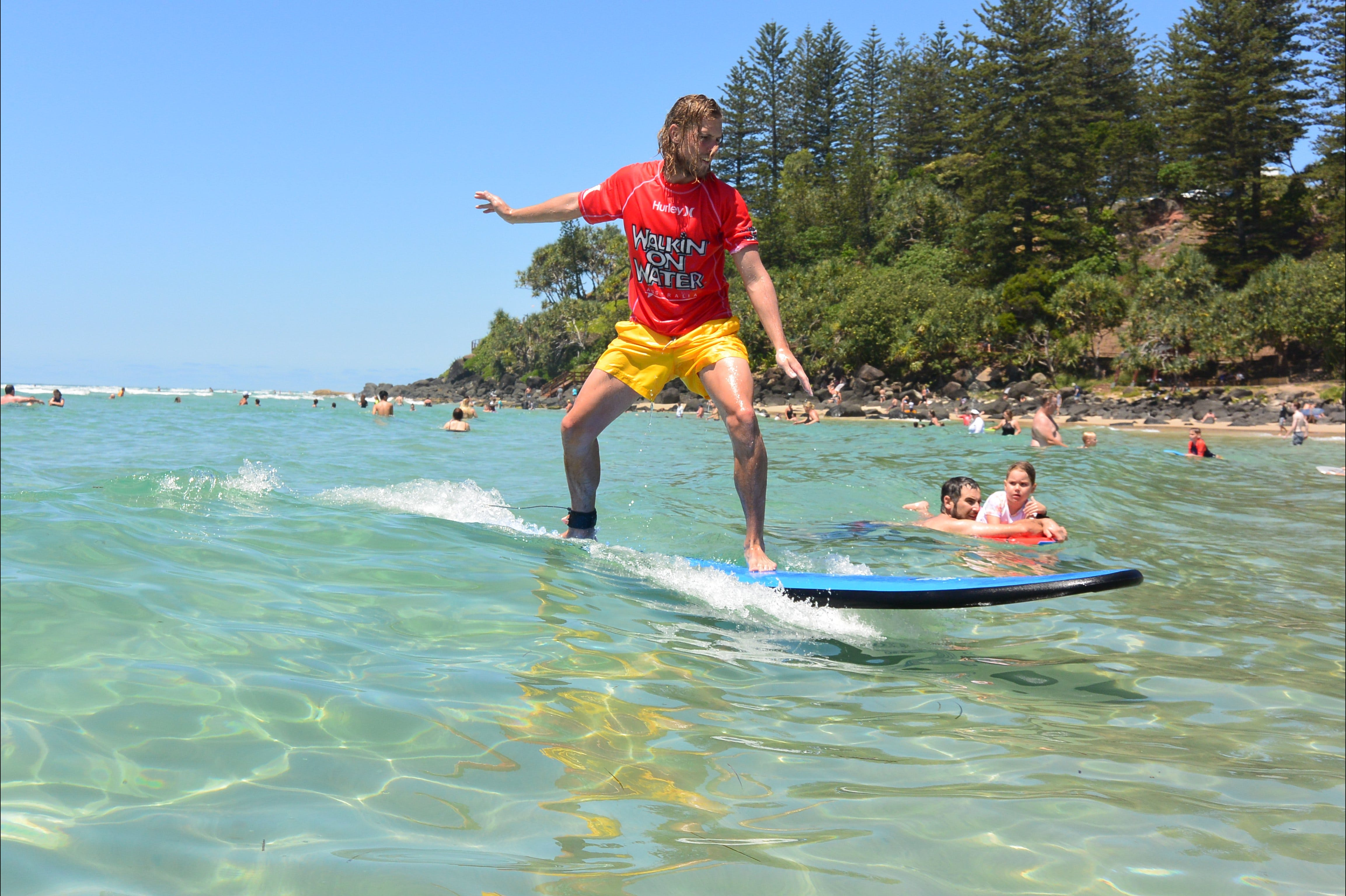 Walkin' On Water Surf School - Broome Tourism