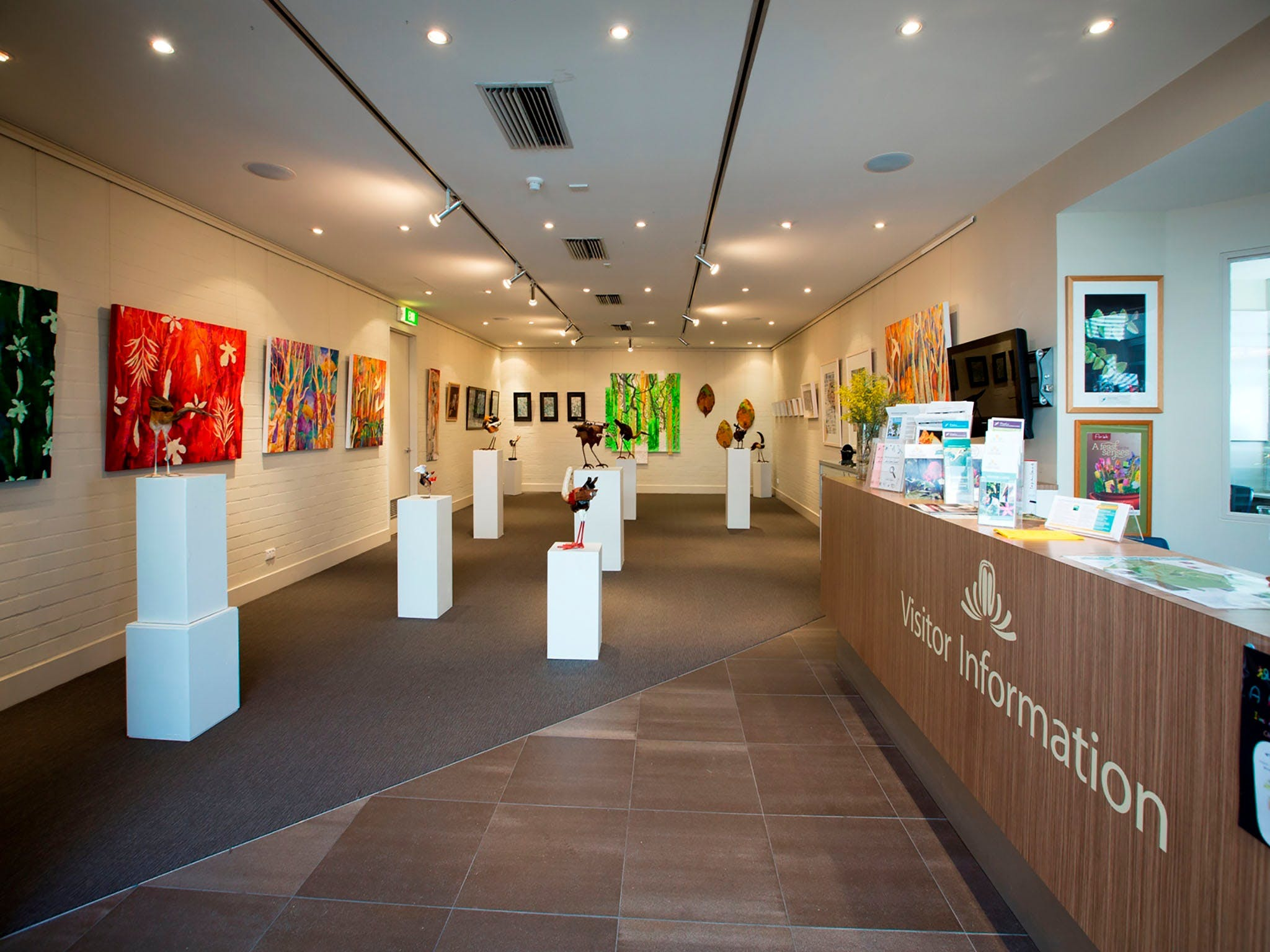 Australian National Botanic Gardens Visitor Centre Gallery - Broome Tourism