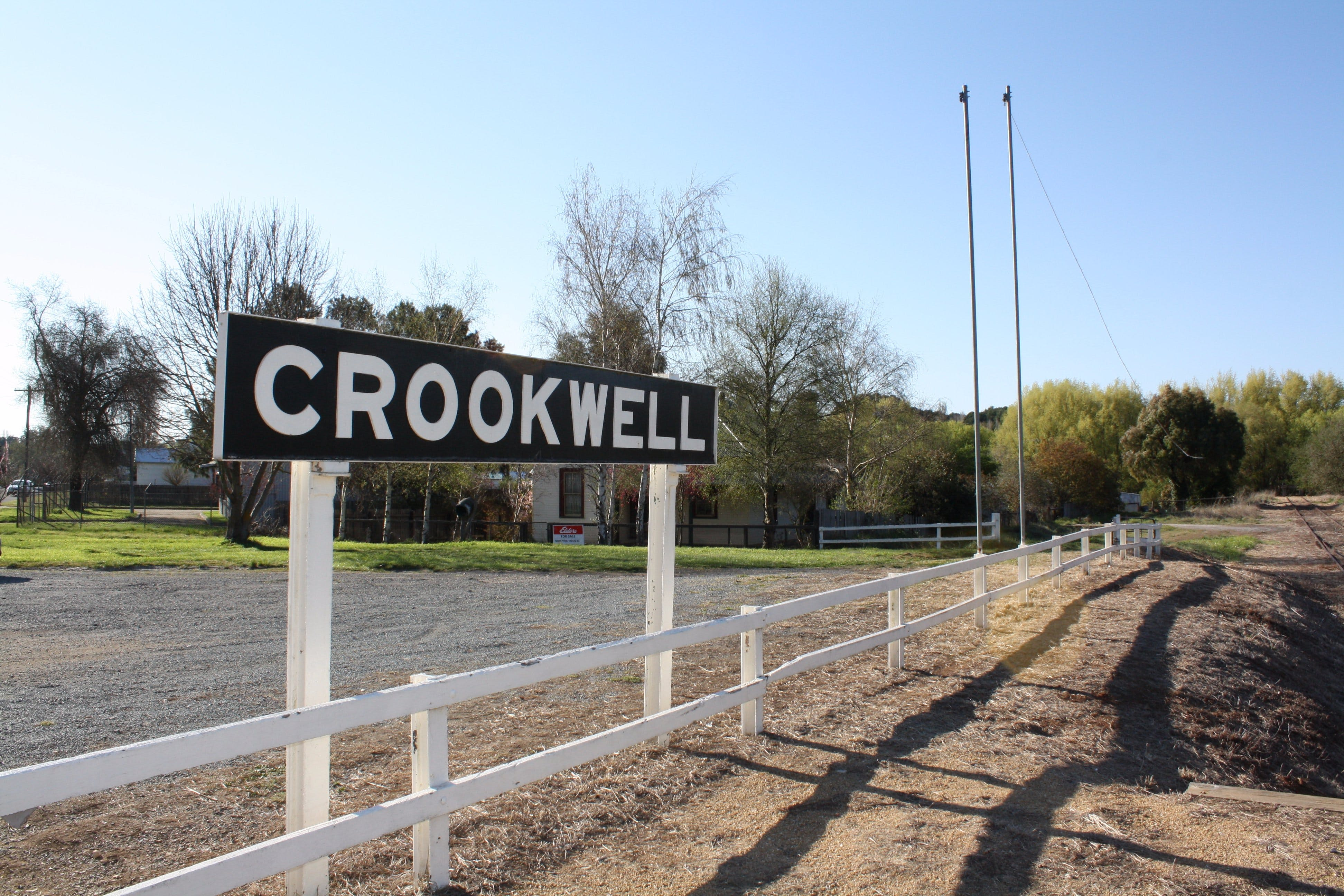 Crookwell Railway Station - Broome Tourism