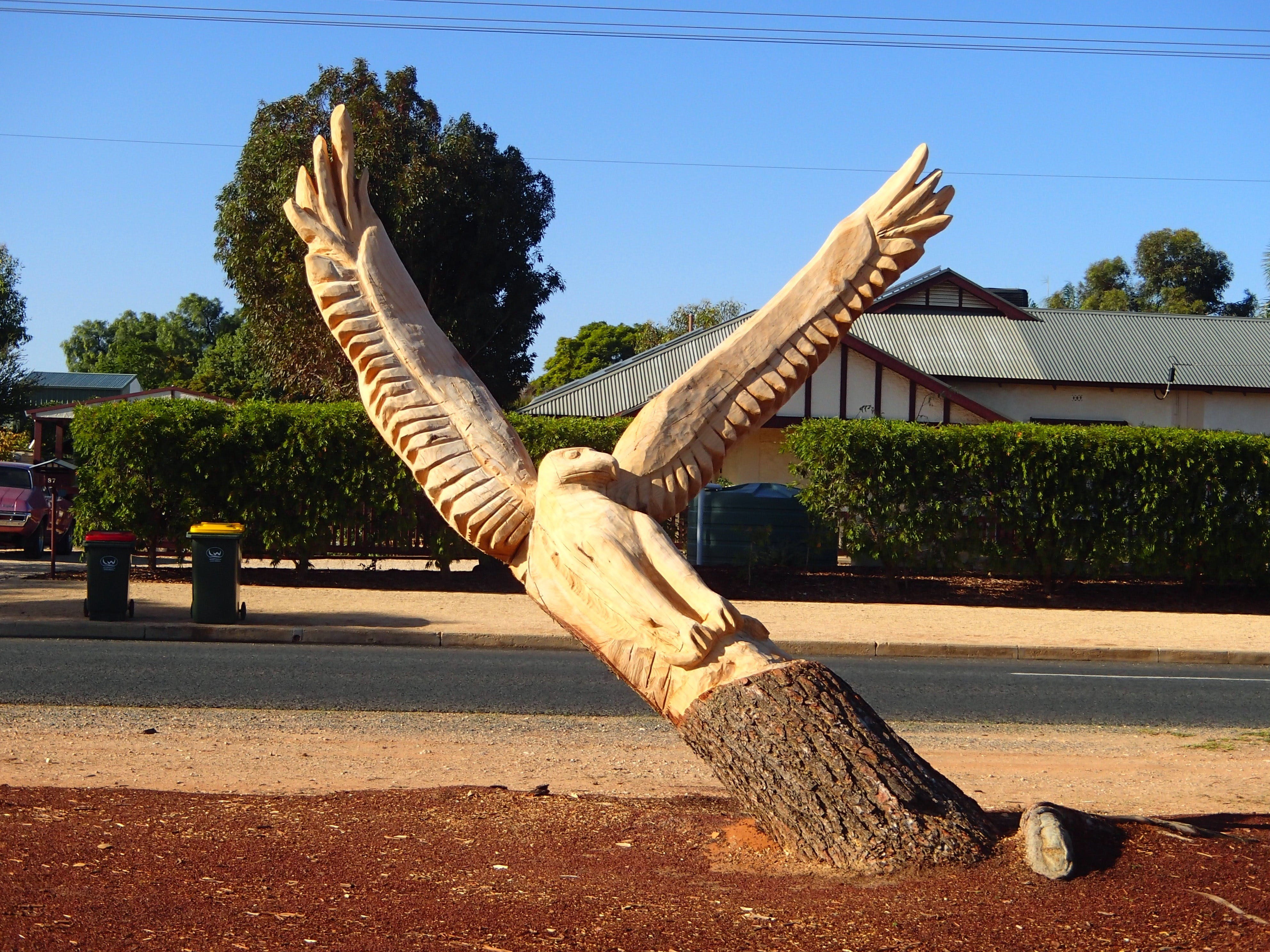 Loxton Tree sculptures - Broome Tourism