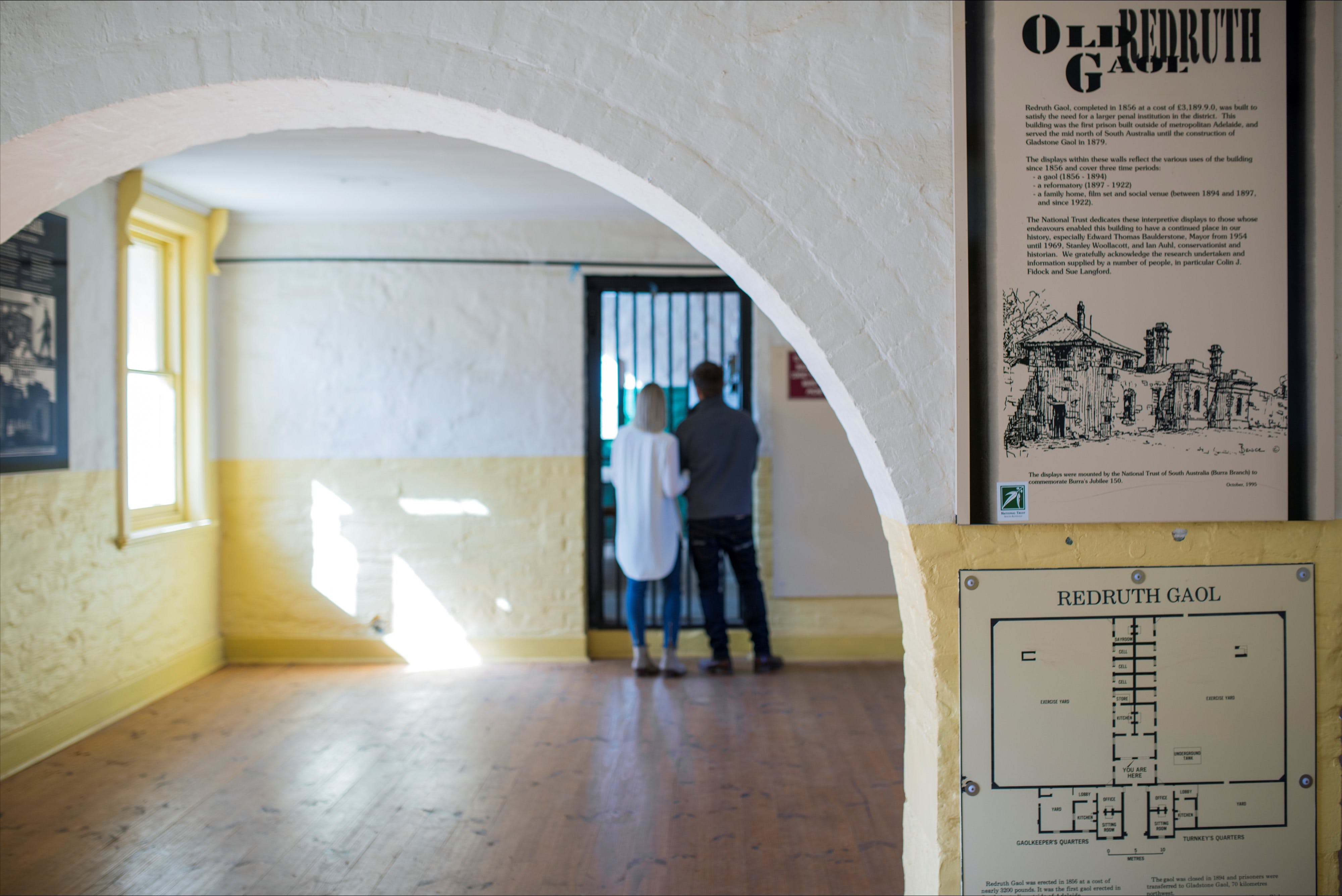 Redruth Gaol - Broome Tourism