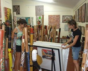 Top Didj and Art Gallery - Broome Tourism