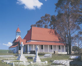 St Werburgh's Chapel - Broome Tourism