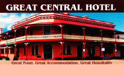 Great Central Hotel - Broome Tourism
