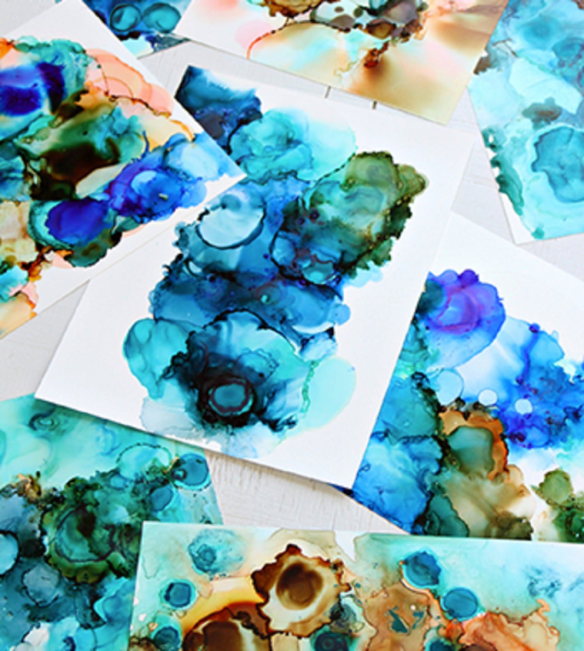 Alcohol Ink Art Class - Broome Tourism