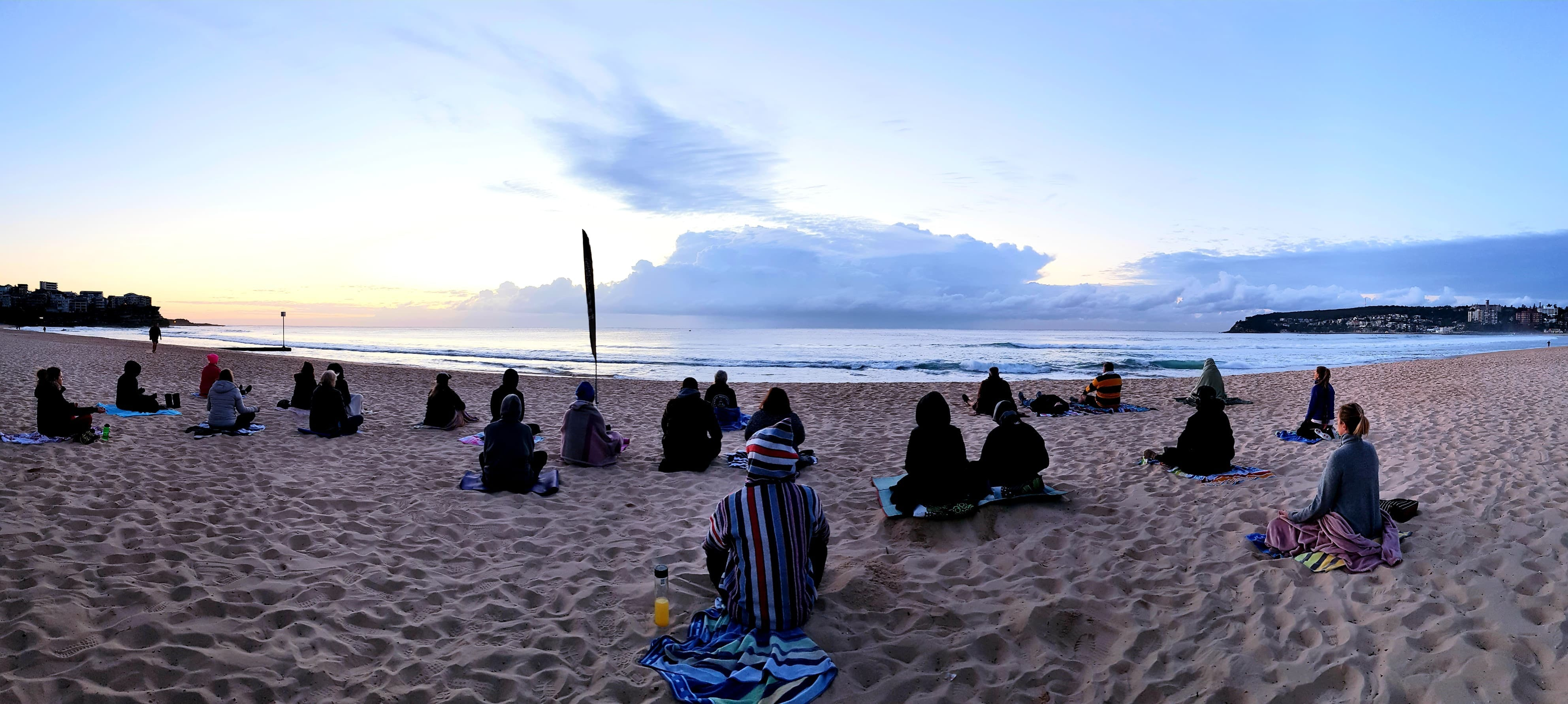 Making Meditation Mainstream Free Beach Meditation Sessions - Avalon Beach - Broome Tourism