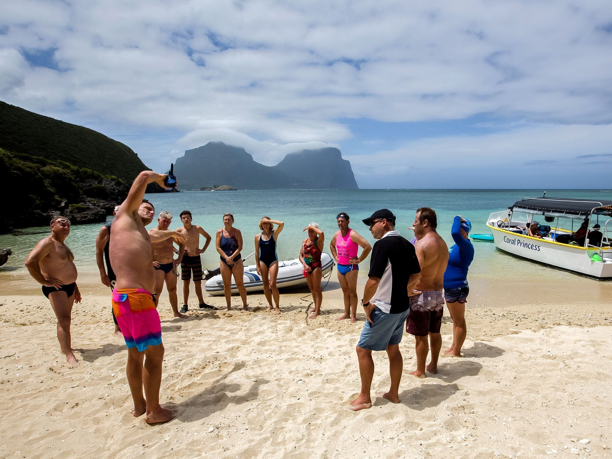 Ocean Swim Week with Trevor Hendy Pinetrees Lord Howe Island - Broome Tourism
