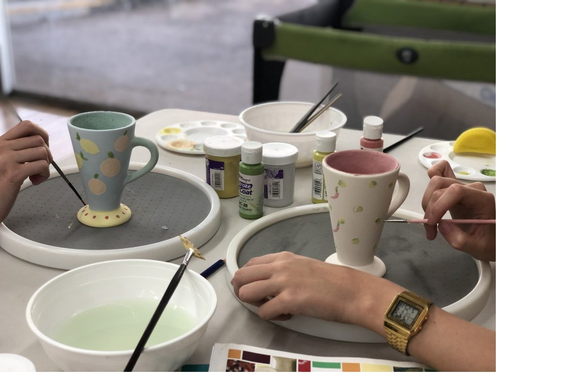 Ceramic Painting Class - Broome Tourism