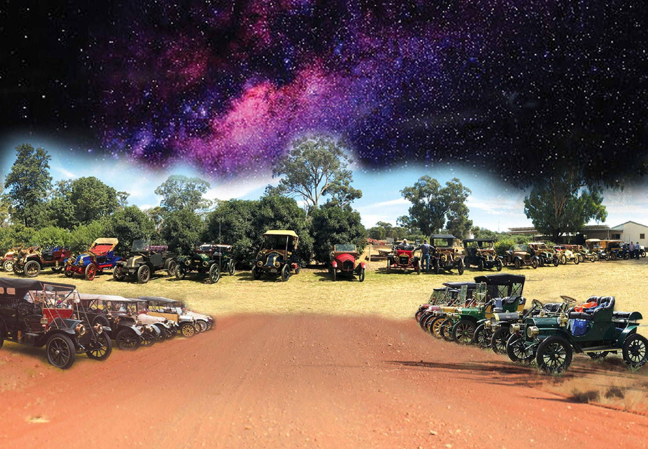 National Veteran 1 and 2 Cylinder Rally - Broome Tourism