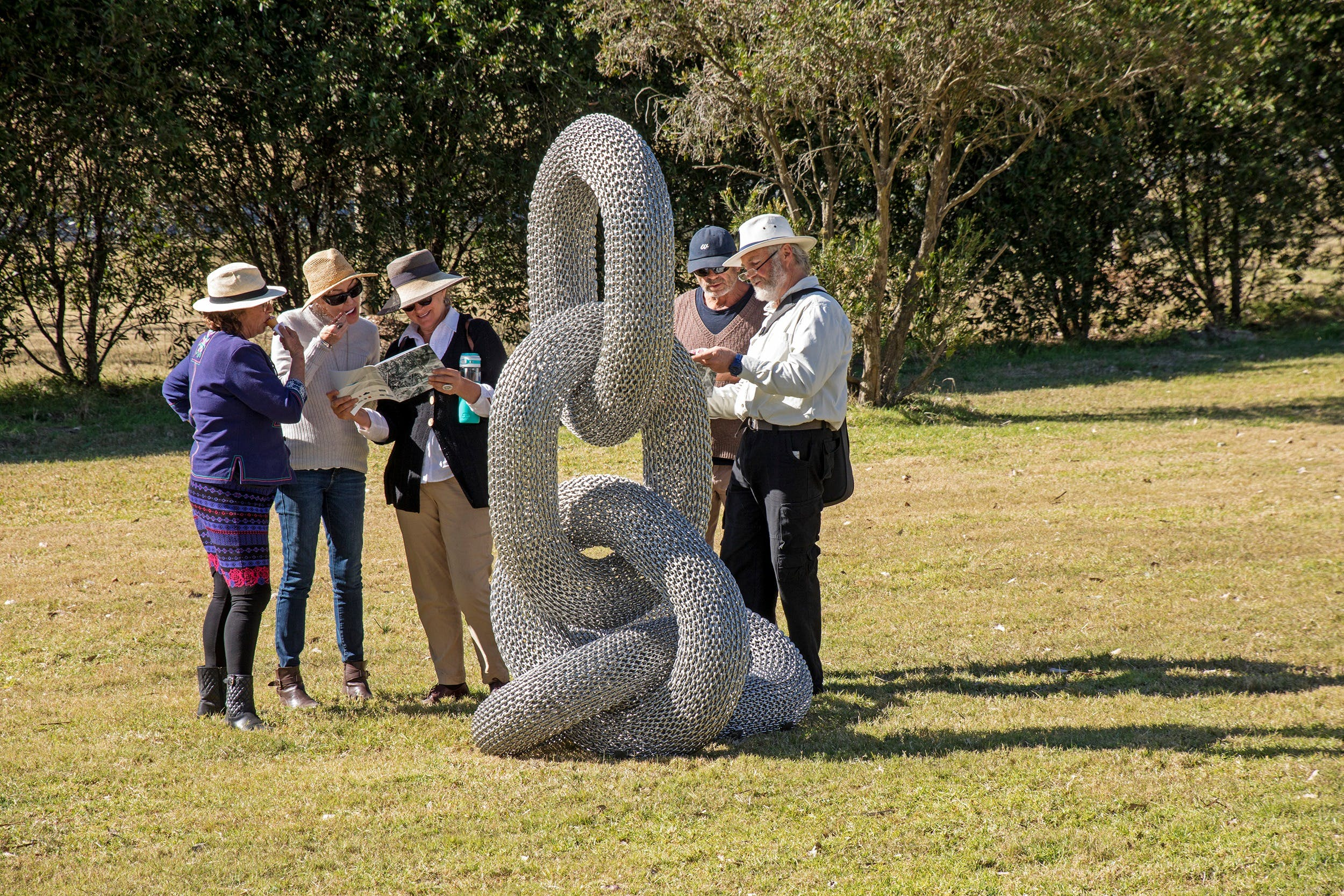 Sculpture for Clyde - Outdoor Exhibition - Broome Tourism
