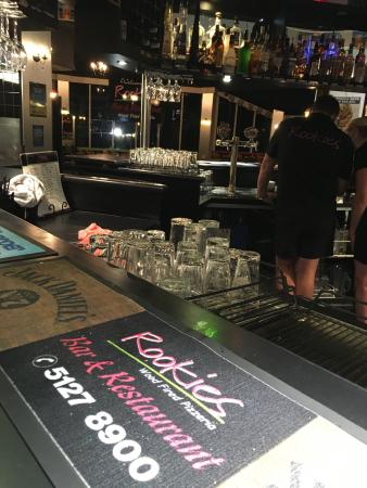 Rookies Pizzeria Bar  Grill - Broome Tourism