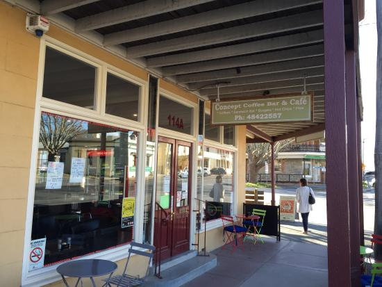 Concept Coffee Bar  Cafe - Broome Tourism