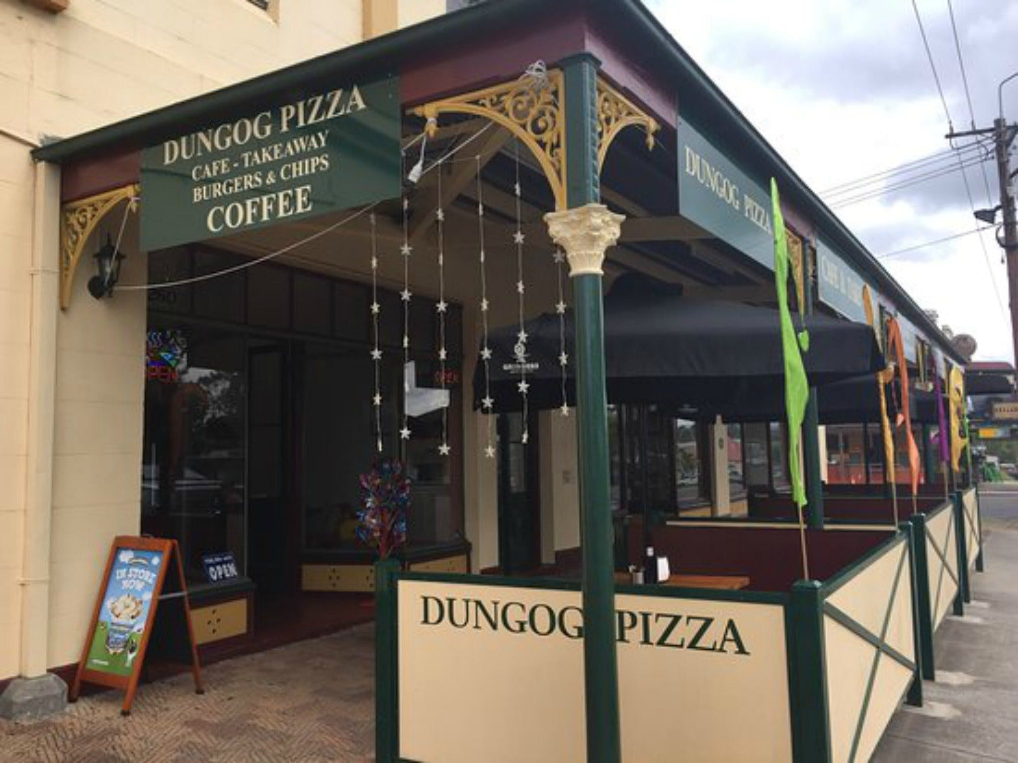 Dungog Pizza - Broome Tourism