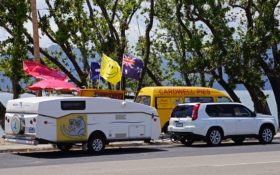 Jessies Cardwell Pies mobile Van - Broome Tourism