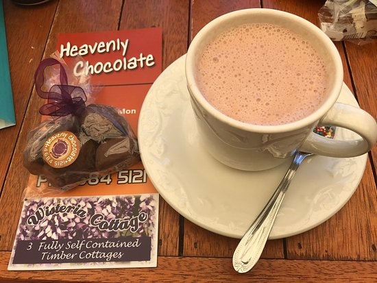 Stanthorpe's Heavenly Chocolate at Wisteria Cottage - Broome Tourism