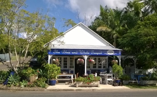 The Blue and White Teapot Cafe - Broome Tourism
