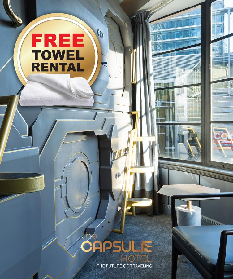 The Capsule Hotel - Broome Tourism